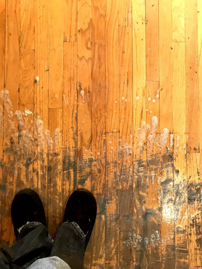 Removing Adhesive from Hardwood Floors